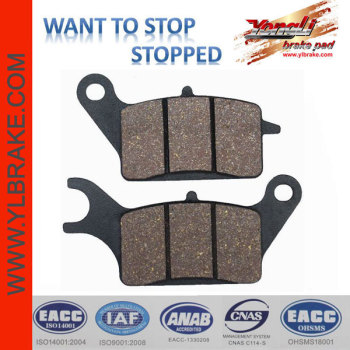 YL-F134 Excellent Material Very Durable No Noise Pads For Braking
