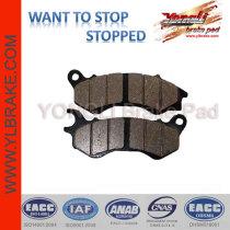 YL-F135 Good friction motorcycle brake part oem brake pads