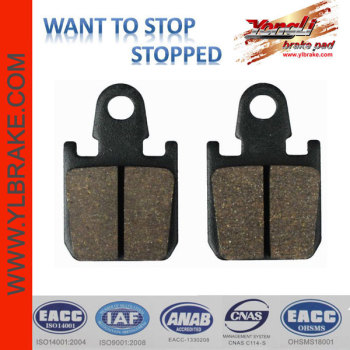 YL-F138 direct factory supply good quality motorcycle brake pads
