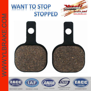 YL-F139 durable semi-metallic motorcycle brake pads