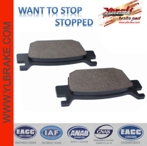 YL-F140 Disc friendly No asbestos Disc Brake Pad Manufacturers