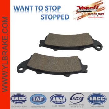 YL-F144 SGS test Low wear rate Brake Pad Suppliers
