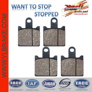 YL-F146 Long Working Life Brake Pad For Z 1000 ABS
