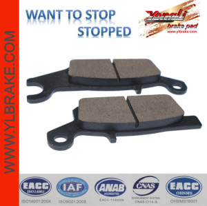 YL-F147 Professional aftermarket brake pad for YAMAHA