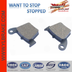 YL-F151 motorcycle brake pads for HONDA-CR 125