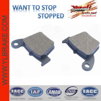 YL-F151 motorcycle brake pads for HONDA-CR 125