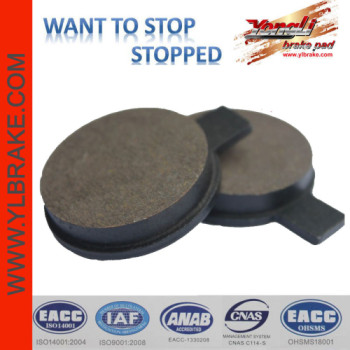 YL-F162 Good Quality No Noise Low Dust Japanese Brand Brake Pad