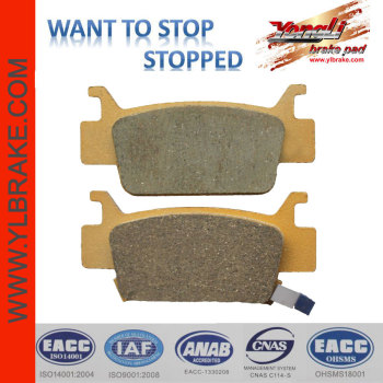 YL-F167 motorcycle brake pad for TRX 500