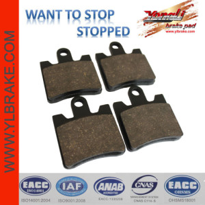 YL-F171 motorcycle brake pads for DAELM S1-125