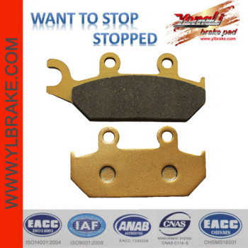 YL-F176 Wholesale Price Factory Customized Brake Pads Motorcycle