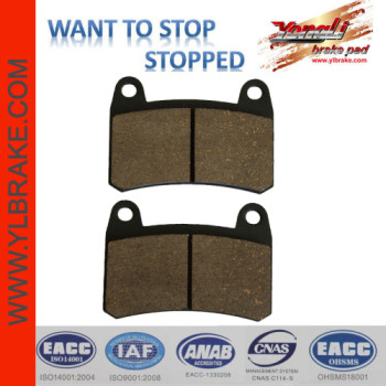 YL-F181 Competitive Price Factory Customized Brake Pad Material for motorcycle
