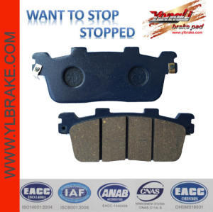 YL-F187 Good Reputation Chinese Manufacturer Brake Pads Motorcycl
