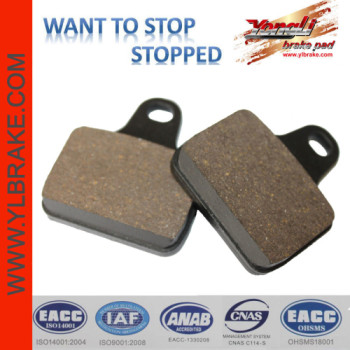 YL-F189 Low noise good quality Reasonable brake pad go karts spare parts