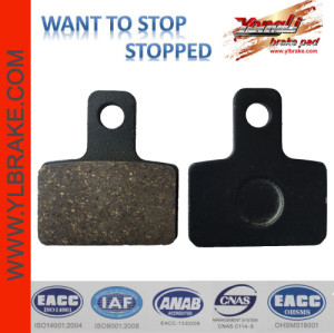 YL-F196 New Competitive Price Brake Pads Import Parts For Motorcycle