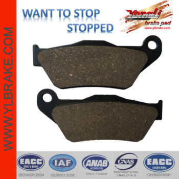 YL-F197 Factory Customized Brake Pads Wholesale Chinese Motorcycle Spare Parts For Sale