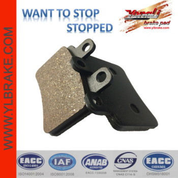 YL-F198 Professional Factory Brake Pads Sinter Pads For DERBI Cross City 125