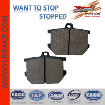 YL-F205 Newest design Good Quality Brake Pads Russian Motorcycle Parts