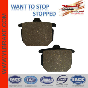 YL-F206 Motorcycle Brake Pads Parts For HONDA-CX 500 CA/CB/Z/A/B;HONDACB 750 F2/GL 1100 A/DA/B/DB (SC02)