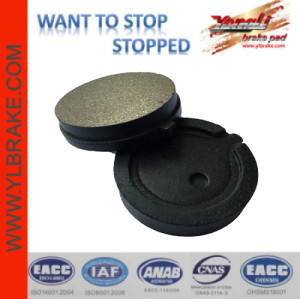 YL-F209 China Hot Product Brake Pads Motorcycle Parts & Accessories