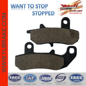 YL-F211 Excellent Material Brake Pads Motorcycle Spart Parts