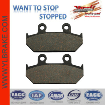 YL-F212 Competitive Price Factory Customized Brake Pads Accessories Motorcycle
