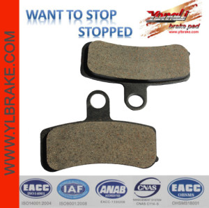 YL-F213 Factory Selling Directly Brake Pads Motorcycle Parts And Accessories