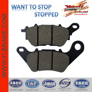 YL-F218 SGS certified motorcycle brake pads for piaggio/vespa BENELLI