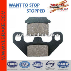 YL-F306 Quality semi-metallic disc brake PADS
