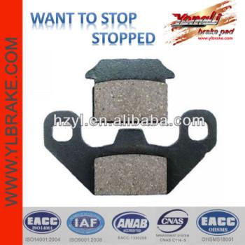 YL-F306 Quality semi-metallic disc brake PADS