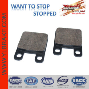 YL-F030 motorcycle brake pad china factory wholesale low noise good quality scooter brake part