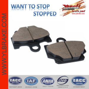 YL-F024 motorcycle brake pad for YAMAHA-DT 80 LC/RX 115/XS 400/XT 600/RD 125 LC/XZ 550 RK/RZ 350 L/RZ 250 R/XV 250 U; RX-125; RXZ