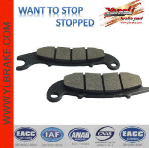 YL-F026 motorcycle brake pad for HONDA-CBR 125 R8 (Canada)/CBR 150 R/FS 125 Sonic/CBF 125/CBR 125; LIFAN-Smart 50/125; SUPERBYKE-CQ 50 Road Classic; RIEJU-NKD 50/RS2 50 FR; HD 125; WAVE 125; CG 125; MEGA PRO NEW; TIGER NEW;