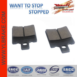 YL-F034 motorcycle brake pad for Scooter china factory wholesale low noise good quality scooter brake part