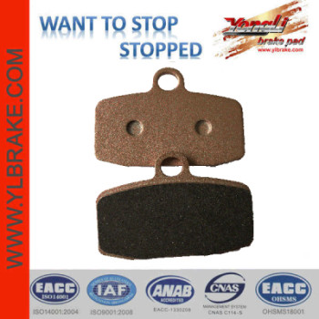 YL-F235motorcycle brake pad
