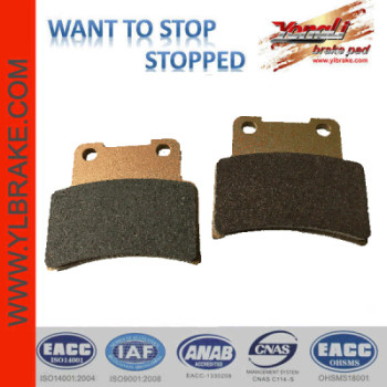 YL-F237 motorcycle brake pad
