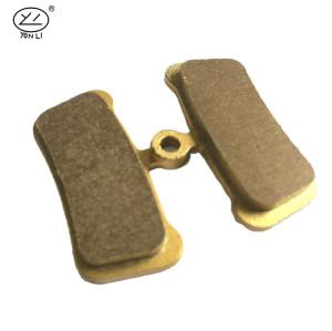 YL-1043 SCB series copper-based XC Trail / XC Sport MTB brake pads for FORMULA R1(2008-)