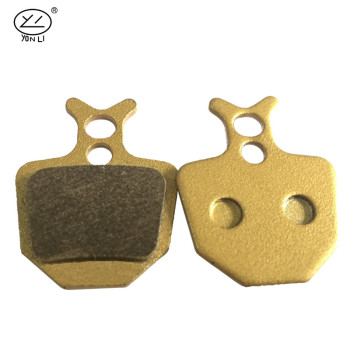YL-1027 SCB series copper-based carbon road bike frame brake pads for HOPE DH4 (4 pistons)