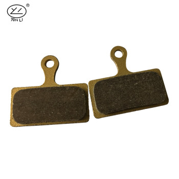 YL-1020 SCB series copper-based Sintered series with kevlar fiber MTB brake pads for AVID BB5