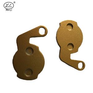 YL-1006 SCB series copper-based Dama Bianca bicycle brake pads for FORMULA Oro 18K