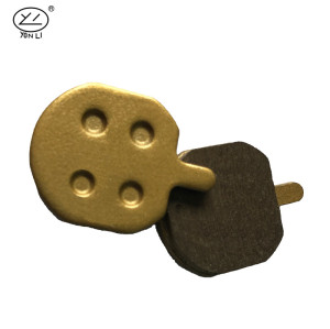 YL-1009 SCB series copper-based Women's Junior's bicycle brake pads for HOPE DB110