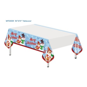 custom plastic table cover  Plastic table centerpieces festive supplies