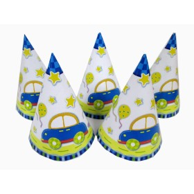 Party Supplies Cheering Toys Paper Hat Cartoon hat Child Favors Hot Sale 5pcs/lot