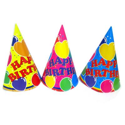 kids birthday paper hat children's birthday patry supplies