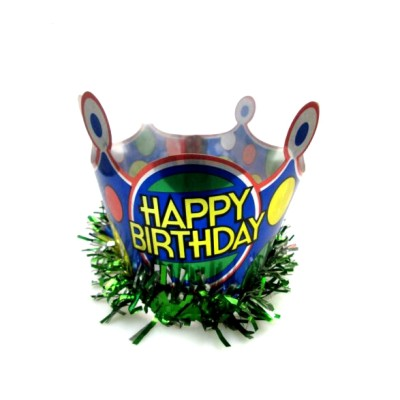 Popular cheap birthday hats, crown for party
