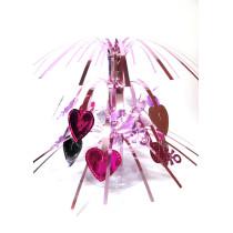 PVC fountain centerpiece for girl birthday table decoration