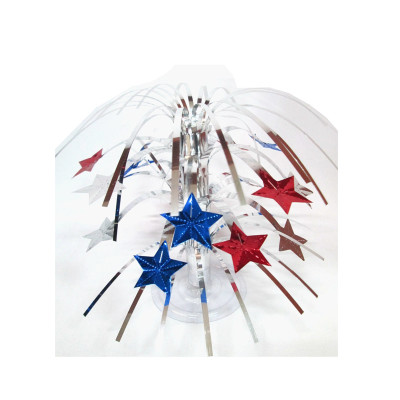 PVC star fountain centerpiece party table decoration
