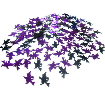 Carnival Witch stage decorations confetti