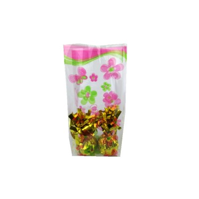 Valentine's Day clear plastic supplier flower candy cello bags