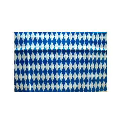Blue Creative High Quality square party PE Table cover