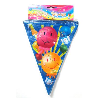wholesale professional children birthday party ballon bunting string flag